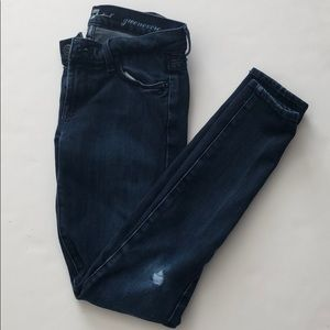 7 for all mankind size 23 skinny jeans
